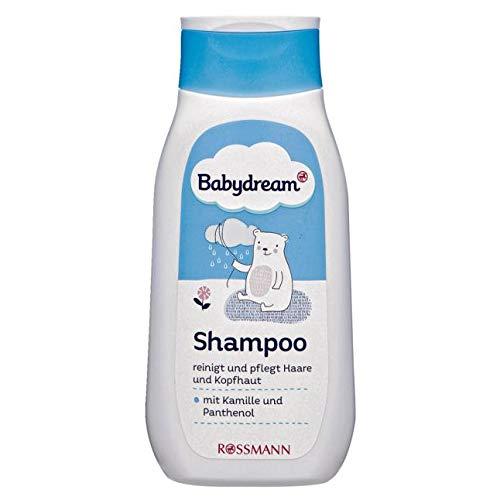 Babydream Shampoo 250 ml reinigt & pflegt Haare & Kopfhaut, mit Kamille & Panthenol