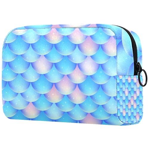 Bolsa de maquillaje personalizada para brochas de maquillaje, bolsa de aseo portátil para mujer, organizador de viaje, diseño de libélula, insecto, azul marino