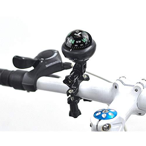 Xbai Brújula, Compañía Clip-on Compass for Bicicletas, brújula de Manillar for Bicicletas,...