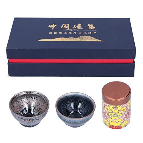 Drinkware, juego de té de cerámica de la taza de té de Kung Fu para la exhibición de la familia