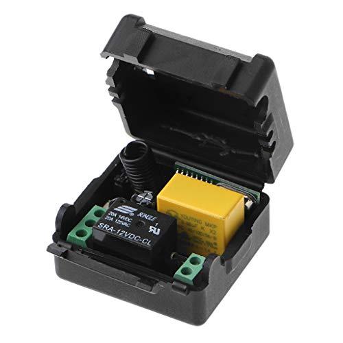 FangWWW AC 220V 10A 1CH RF 433MHz Wireless Remote Control Switch Receiver + Transmitter Kit