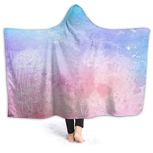 Manta ultra suave y ligera con capucha para gatos Selfies cómoda y mullida colcha para cama, sofá, sala de estar, picnic, apto para todas las estaciones de 152 x 127 cm, pequeña para niños
