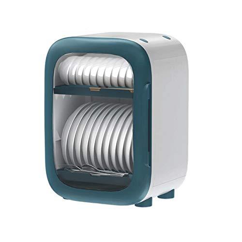 GAONAN Estante de secado para platos, escurridor de cubiertos móvil, soporte de utensilio de 2 niveles, soporte de tabla de cortar, soporte de espacio para ahorrar espacio Rejilla del tazón de drenaje
