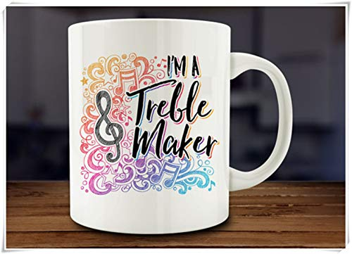N\A I'm A Treble Maker Mug, Music Mug