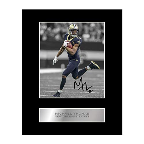 Michael Thomas Autogramm New Orleans Saints #05 NFL Autogramm, Geschenk, Kunstdruck