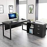 Tribesigns L-Shaped Desk, 55 inch Modern Computer Desk...