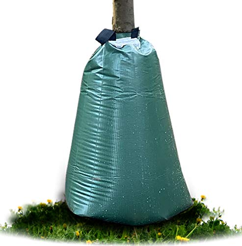 Tree Soaker Tree Watering Bag   20 Gallon Slow Release Drip Tree Irrigation System   Watering Bag for Trees and Landscaping