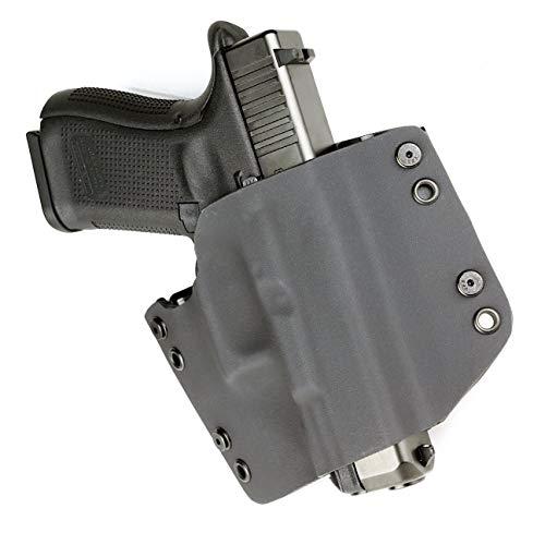 OWB Holster - Black (Right-Hand, Fits Glock Polymer 80 - PF940SC, PF940C, PF940V2, PF940CL)