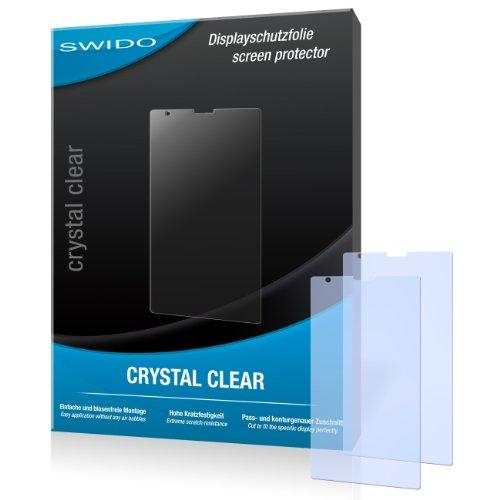SWIDO Bildschirmschutz für Nokia Lumia 1520 [4 Stück] Kristall-Klar, Hoher Festigkeitgrad, Schutz vor Öl, Staub & Kratzer/Schutzfolie, Bildschirmschutzfolie, Panzerglas Folie