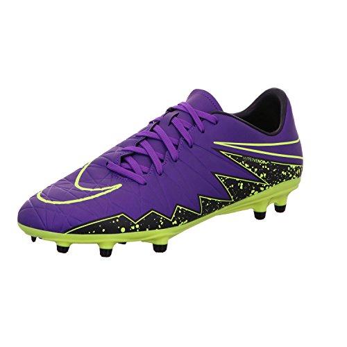 NIKE Hypervenom Phelon II FG Soccer Cleat (Hyper Grape) SZ. 11