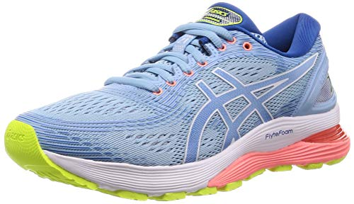 Asics Gel-nimbus 21, Women's Running Shoes, Blue (Heritage Blue/Lake Drive 402), 5.5 UK (39 EU)