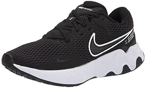 Nike Renew Ride 2, Zapatillas para Correr Hombre, Black White Dk Smoke Grey, 41 EU