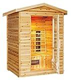 Burlington 2-Person Outdoor Sauna