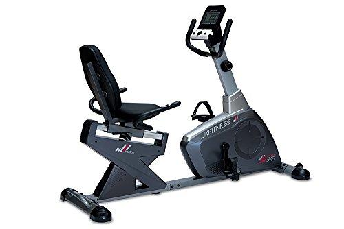 Cyclette Magnetica Recumbent Reclinata JK Fitness Performa JK 316 - Portata Kg. 150 - Volano Kg. 12