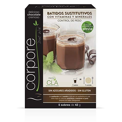Corpore Diet Batido Sustitutivo Chocolate con CLA Clarinol -210 gr