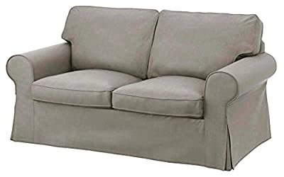 The Cotton Ektorp Loveseat Cover Replacement Is Custom Made For Ikea Ektorp Loveseat Sofa Cover, A Ektorp Slipcover Replacement