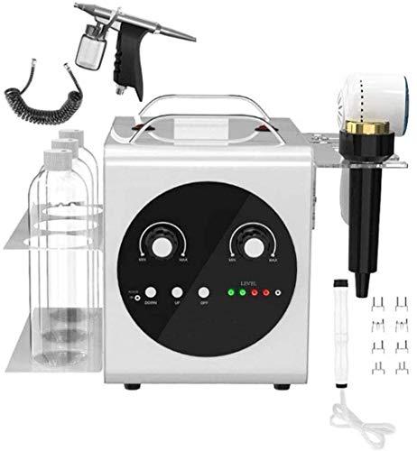 DDDXF Facial Beauty Machine 4-in-1 kleine Blasen Wasser Sauerstoff Tiefenreinigung Hautpflege Hautverjüngung Facial Sprayer Feuchtigkeitsspendende Hydro Spa Machine