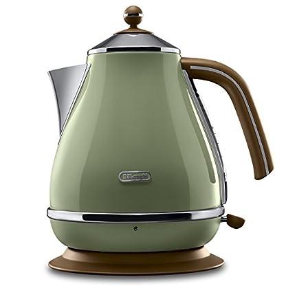 DeLonghi-Wasserkocher-Icona-Vintage-KBOV2001GR-17-l-mit-Wasserstandsanzeige-und-360-Basis-Edelstahl-in-elegantem-Retro-Look-mit-Chrom-Details-gruen