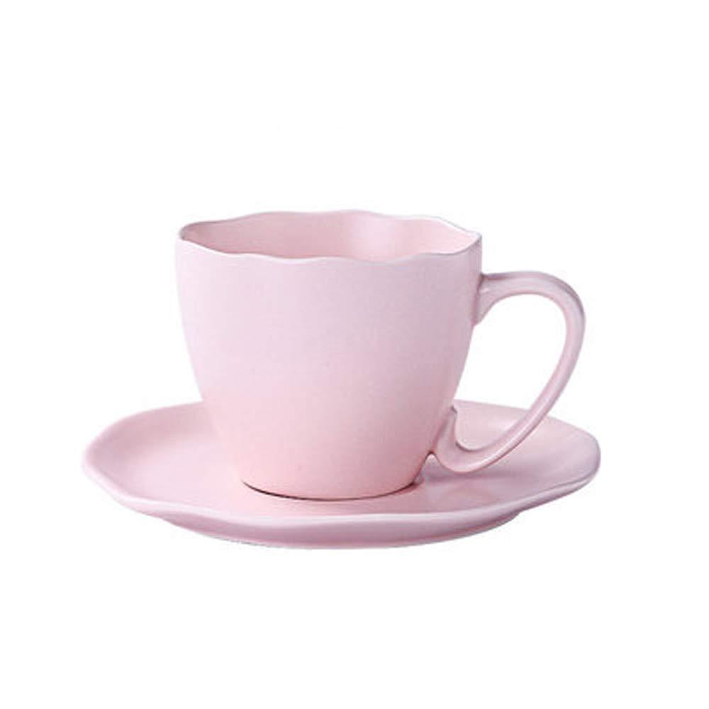 كوب قهوة من السيراميك بتصميم الكرتون والحليب كوب للأطفال كوب شاي أوروبي عالي الجودة للحفلات العائلية بعد الظهر كوب شاي الإفطار اللون وردي Amazon Ae