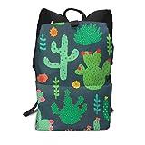 Homebe Mochila Unisex, Ball Cactus Travel Business Slim Durable Laptops School Backpack Bookbag For College Travel Hiking Fit Laptop