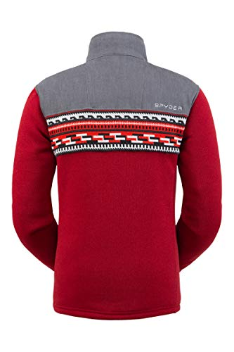 Spyder Men's Wyre Fleece Jacket – Full Zip Sweater
