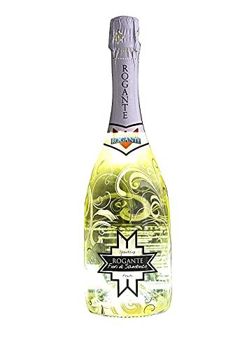 Rogante Fiori di Sambuco - Spumante Fruttato 75CL, Bottiglia Luminosa 11%