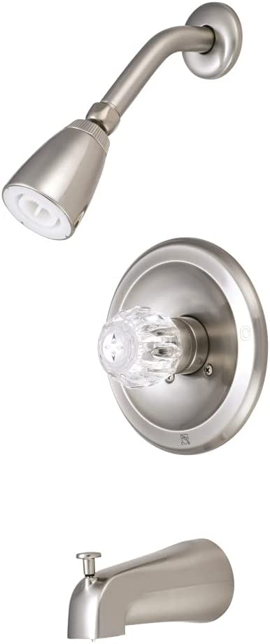 Kingston Brass KB538 Single NEW before selling Acrylic Handle Faucet Tub Surprise price and Shower