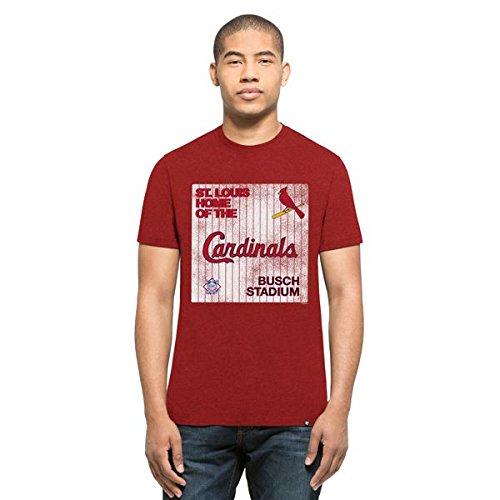 MLB Baseball T-Shirt ST. Louis Cardinals Knockaround Club Logo '47Brand (M)