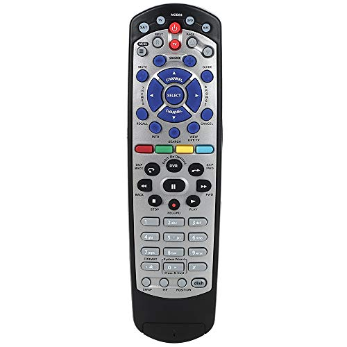 Gvirtue Universal Replacement Remote Control Compatible for Dish Network 20.1 IR Remote Control TV1