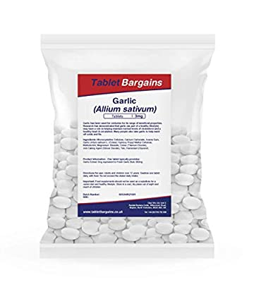 Tablet Bargains Garlic 3mg - 500 Tablets from Tablet Bargains