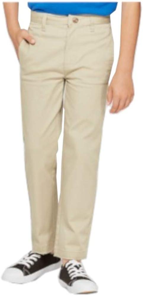 Cat & Jack Boys (2-Pack) Straight Leg Adjustable Waist Chino Pants