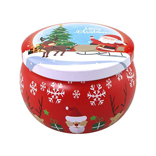 Daoxiang Christmas Scented Candle Set, Natural Soy Wax Scented Candles Gifts, Candle Decoration, Women Birthday Party Anniversary Candles Gift Set, Holiday Party Atmosphere Supplies(1/5Pcs)