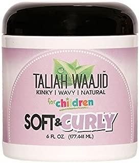 Taliah Waajid Kinky Wavy Natural Soft and Curly Jelly, 6 Ounce
