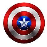 ABDOMINAL WHEEL Escudo Vestuario de Capitán América,Serie Avengers Legends Réplica de Marvel Prop,60Cm Adecuado para Juegos de rol de Halloween para Adultos Versión De Película Escudo del