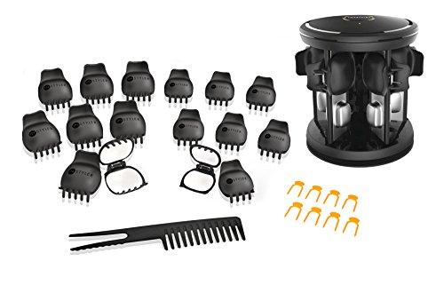 InStyler Lockenwickler. Lockenstab mit 16 Vollkeramik Schalen mit patentierten Turmalin-Wärmekammern