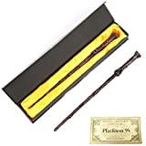 22 Kinds of Series Magic Wand with Box Magic Wand Knight Bus Hogwart Train Ticket (Color : Harry)