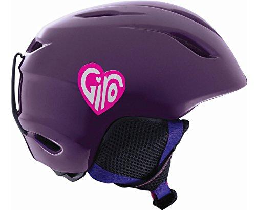 Giro Kinder Skihelm Launch, Purple Hearts, M/L