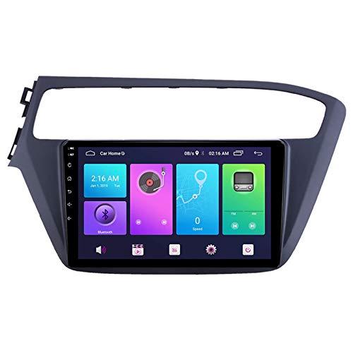 Estéreo Radio WiFi 4G Bluetooth para I20 2018 Coche GPS Navegación 10 Pulgadas Pantalla táctil Cabeza Unidad Androide Sistema Multimedia Jugador Marcha atrás Imagen Vídeo Receptor,S4