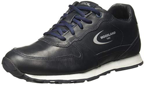 Woodland Men's Gj 2813118_Navy_11 Sneakers-11 UK (45 EU) (12 US) (Leather)