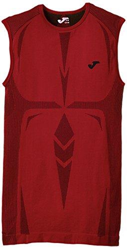 Joma Brama Emotion - Camiseta térmica sin mangas para hombre, color rojo, talla L-XL