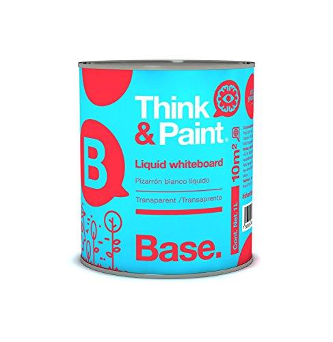 Think & Paint Pintura Pizarron color Transparente para 10m2