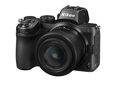 Nikon Z5 + Z 24-50 + Lexar SD 64 GB 667x Pro Fotocamera Mirrorless, CMOS FX 24.3 MP, Full Frame, Mirino Quad-VGA EVF, LCD 3.2' Touch, Wi-Fi, Bluetooth, Video 4K, Nero [Nital Card: 4 Anni di Garanzia]