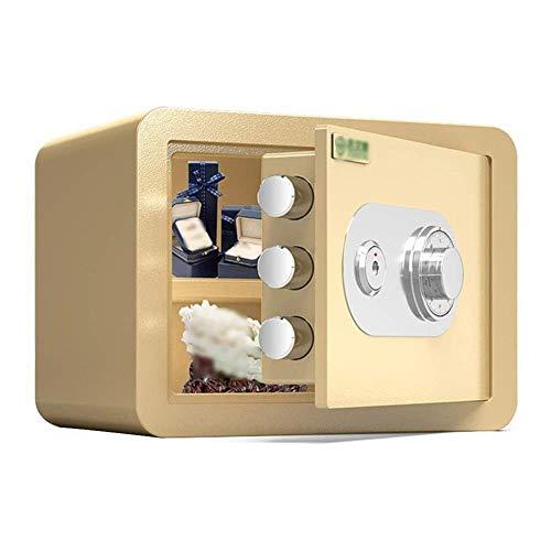 Casseforti per armadi, casseforti, mini cassetta di sicurezza meccanica antiquata, scatola di assicurazione fissa invisibile, casseforti per armadietti per documenti d'identità, computer A4 con blocco