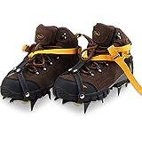 Bota De Senderismo Bota De Montaña Crampones Montañismo Alpinismo Dispositivo De Tracción Resistente Antideslizante Para Nieve De Hielo Deportes Al Aire Libre