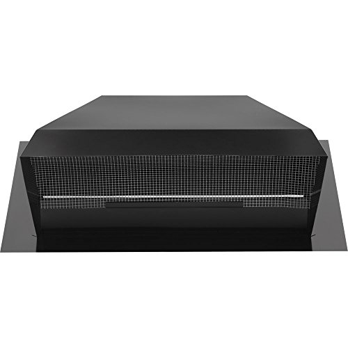 Broan 437 High Capacity Roof Cap Black 1200 CFM