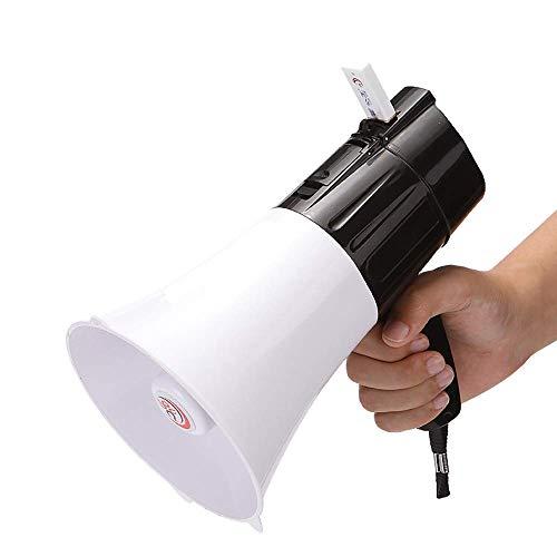 Plegable portátil megáfono altavoz de 20 vatios megáfono con el control de...