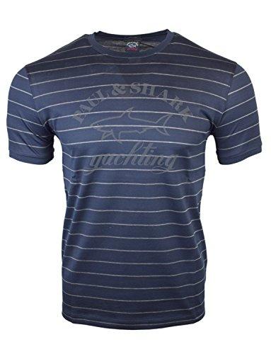 Paul & Shark Herren T-Shirt Blau blau Gr. XXL, blau
