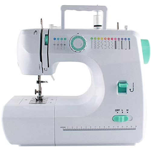 Sewing Machine, Household Multifunctional Desktop Sewing Machine, Automatic Sewing Machine with 16 Stitches, 7-10days Delivery
