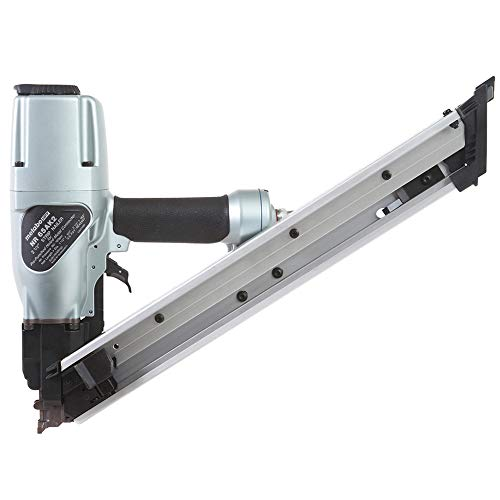 Metabo HPT 2-1/2-Inch Strap-Tite Fastening System Strip Nailer   Pneumatic   Accepts 1-1/2' and 2-1/2' Nails   Metal Connector   NR65AK2