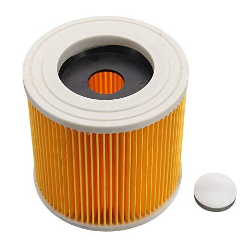 Filtro de Cartucho Compatible con Aspiradora Kärcher en Seco y Húmedo WD2 WD3 Series A Series Poweka Reemplaza # KAR64145520
